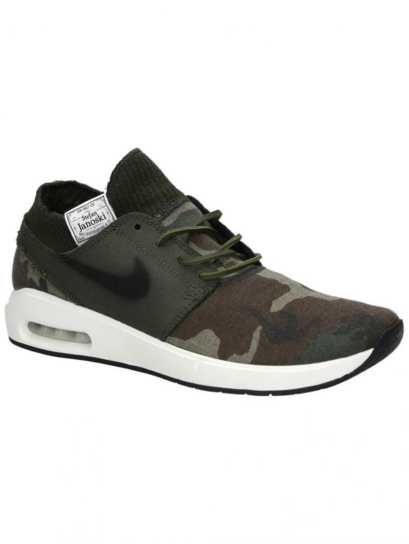 Nike SB Air Max Janoski 2 PRM Iguana/Black/Cargo Khaki/ | Mens Sneakers