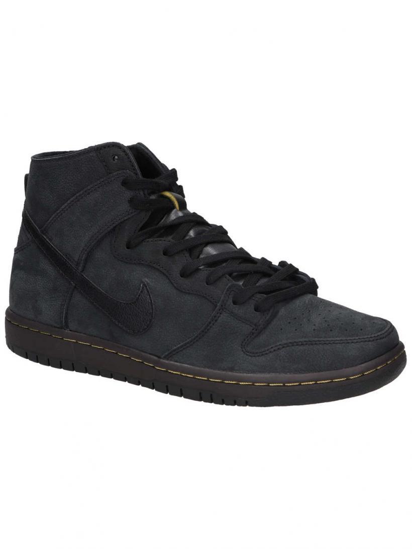 Nike SB Zoom Dunk High Pro Deconstructed Black/Black/Velvet Brown/ | Mens Sneakers
