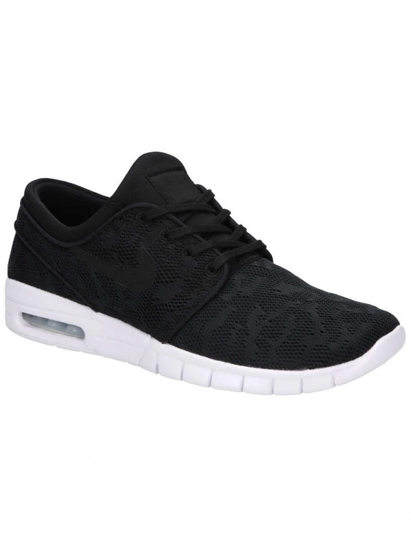 Nike Stefan Janoski Max Black/Black/White2 | Mens/Womens Sneakers