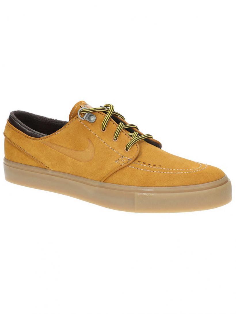 Nike Zoom Janoski PRM Bronze/Bronze/Gum/Light B | Mens Skate Shoes