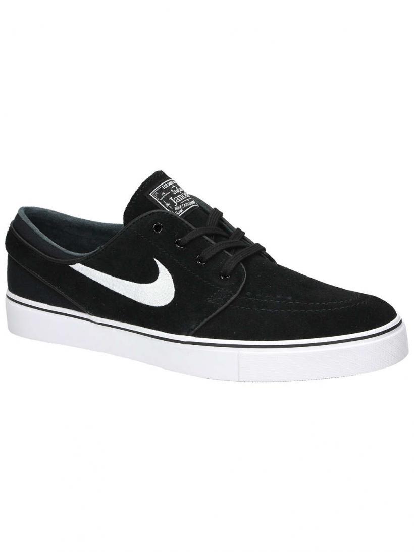 Nike Zoom Stefan Janoski Black/White | Mens Skate Shoes