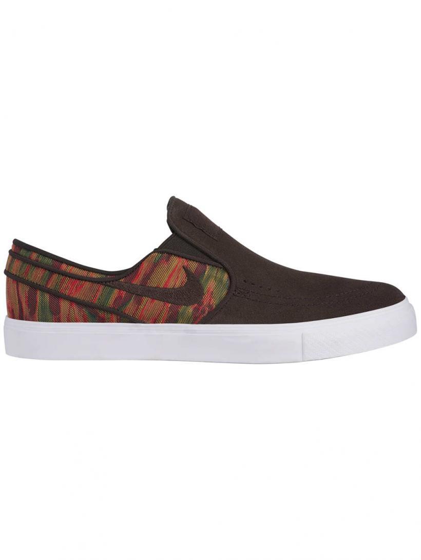 Nike Zoom Stefan Janoski Premium Slip-Ons Velvet Brown/Velvet Brown | Mens Slip-Ons