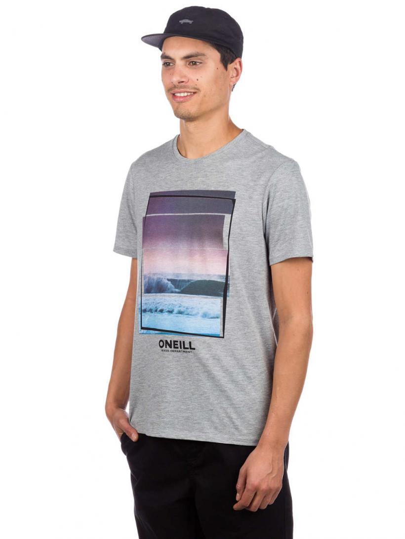 O'Neill Beach T-Shirt Silver Melee | Mens T-Shirts