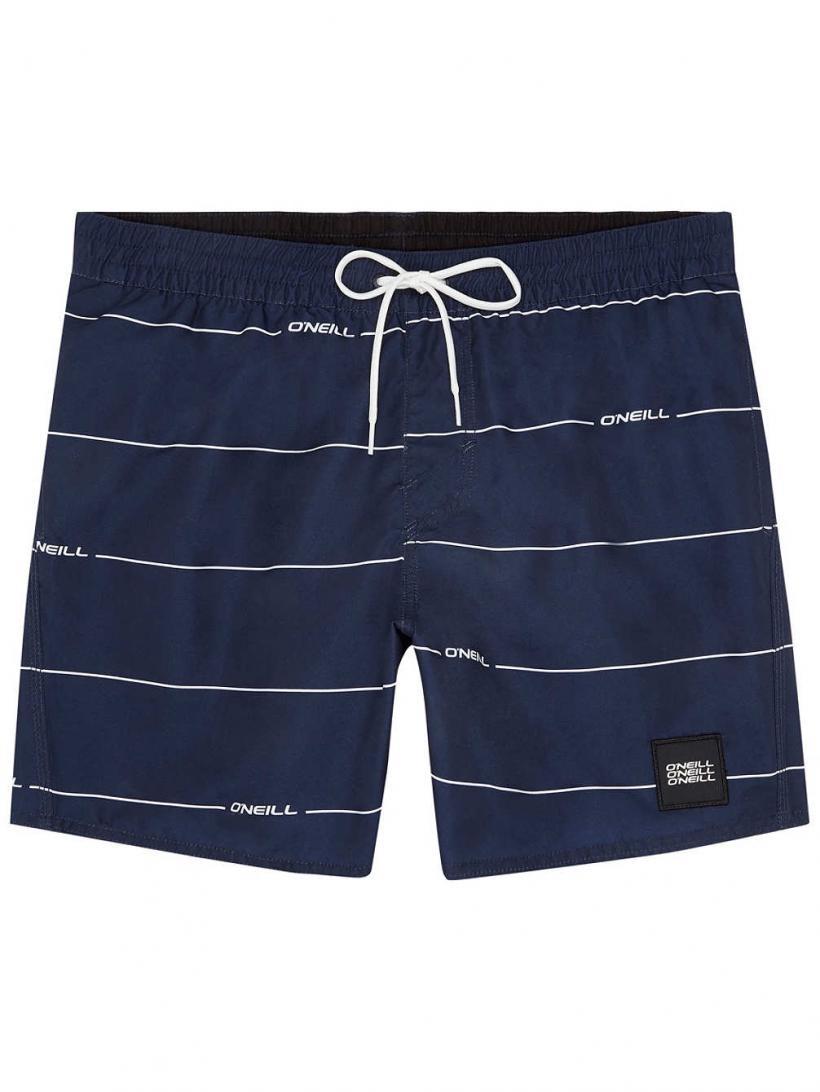 O'Neill Contourz Boardshorts Blue Aop W/White | Mens Swimwear