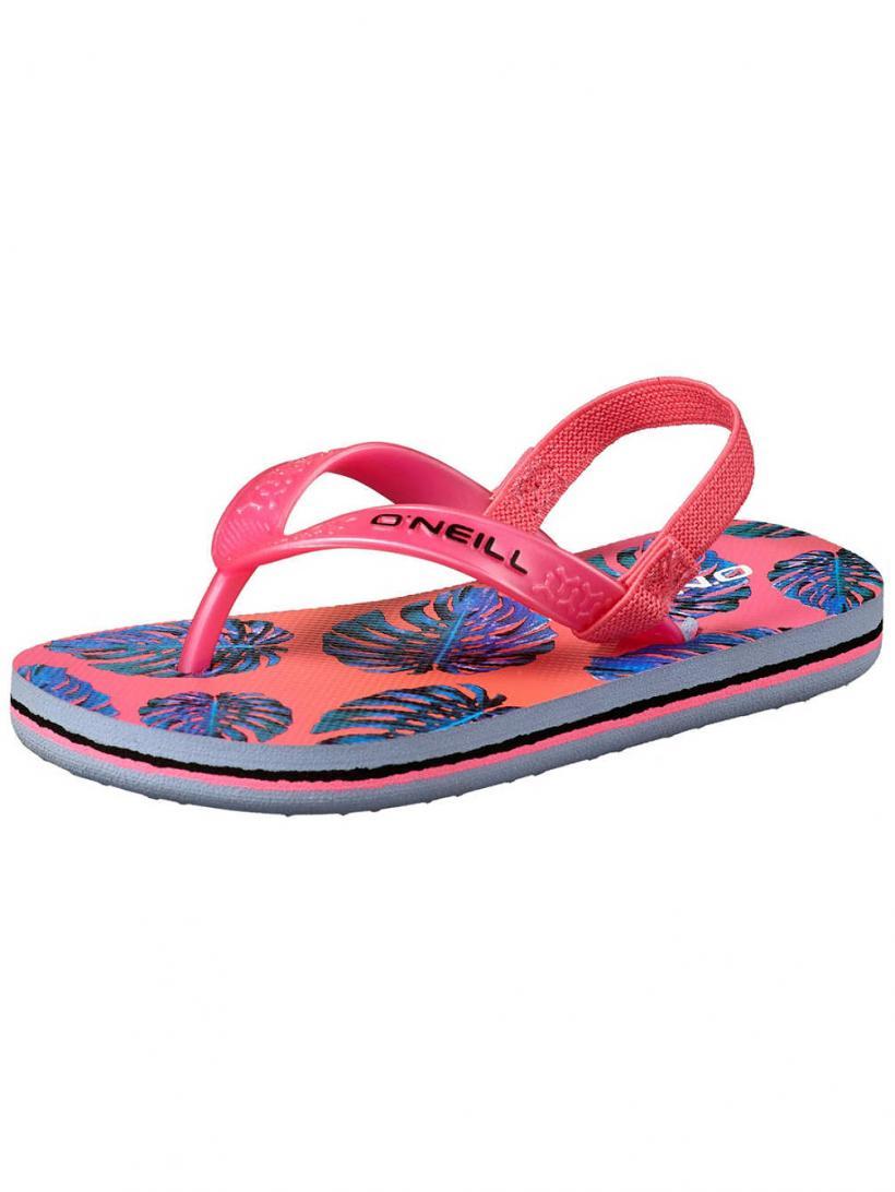 O'Neill Moya Plus White Aop W/Pink/Purple | Mens Sandals