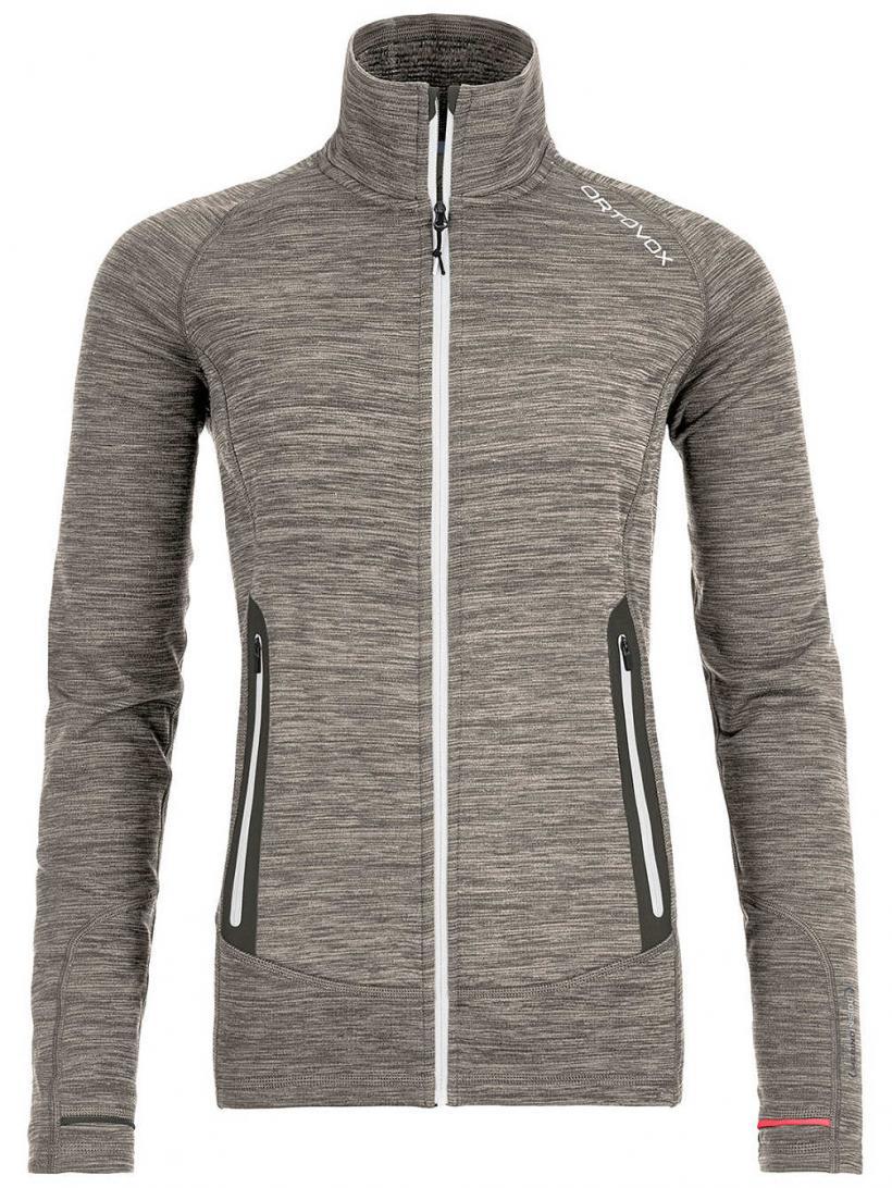 Ortovox Light Melange Fleece Jacket Grey Blend | Womens Jackets