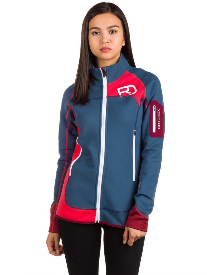 Ortovox Plus Fleece Jacket Night Blue | Womens Jackets