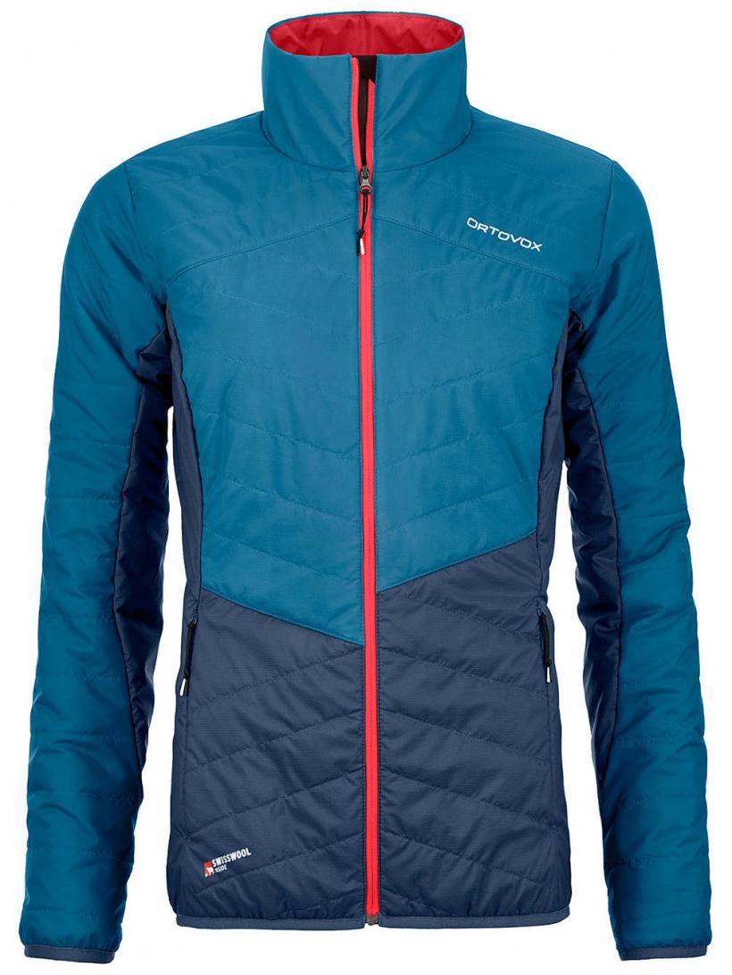 Ortovox Swisswool Dufour Jacket Blue Sea | Womens Jackets