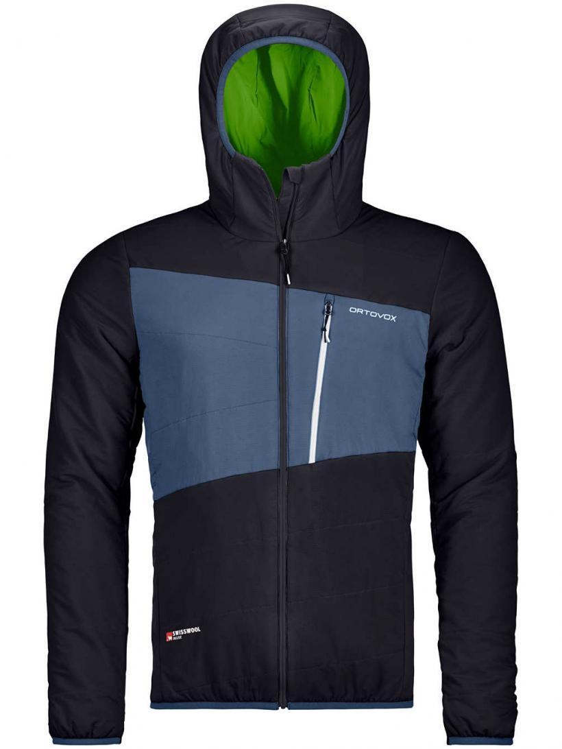 Ortovox Swisswool Zebru Jacket Black Raven | Mens Jackets