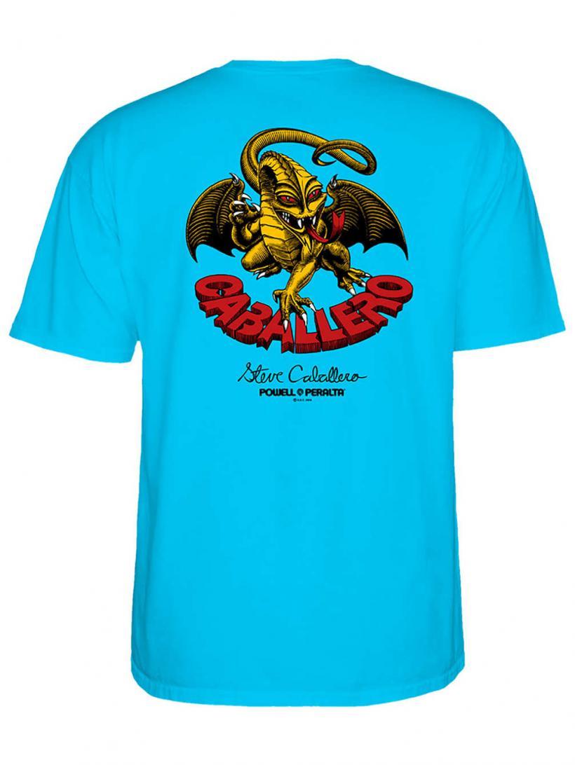 Powell Peralta Cab-Dragon-Ii T-Shirt Turquoise   Mens T-Shirts