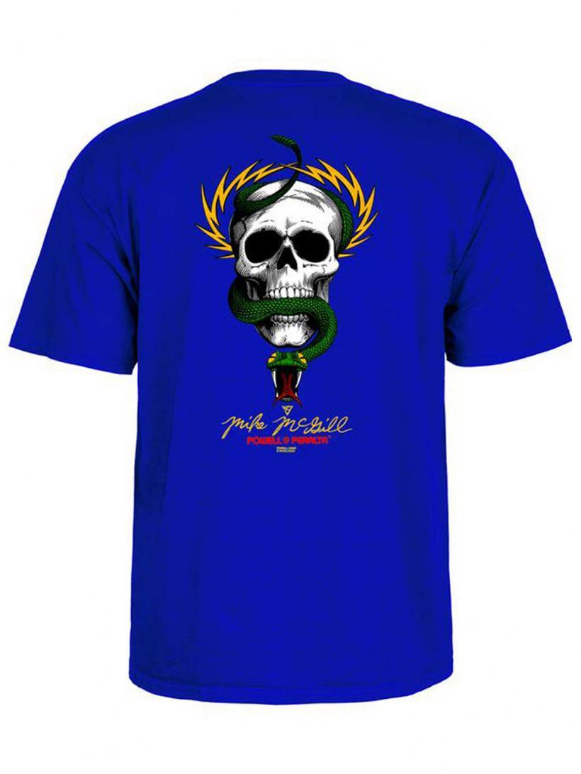 Powell Peralta Mc Gill Skull & Snake T-Shirt Royalblue   Mens T-Shirts