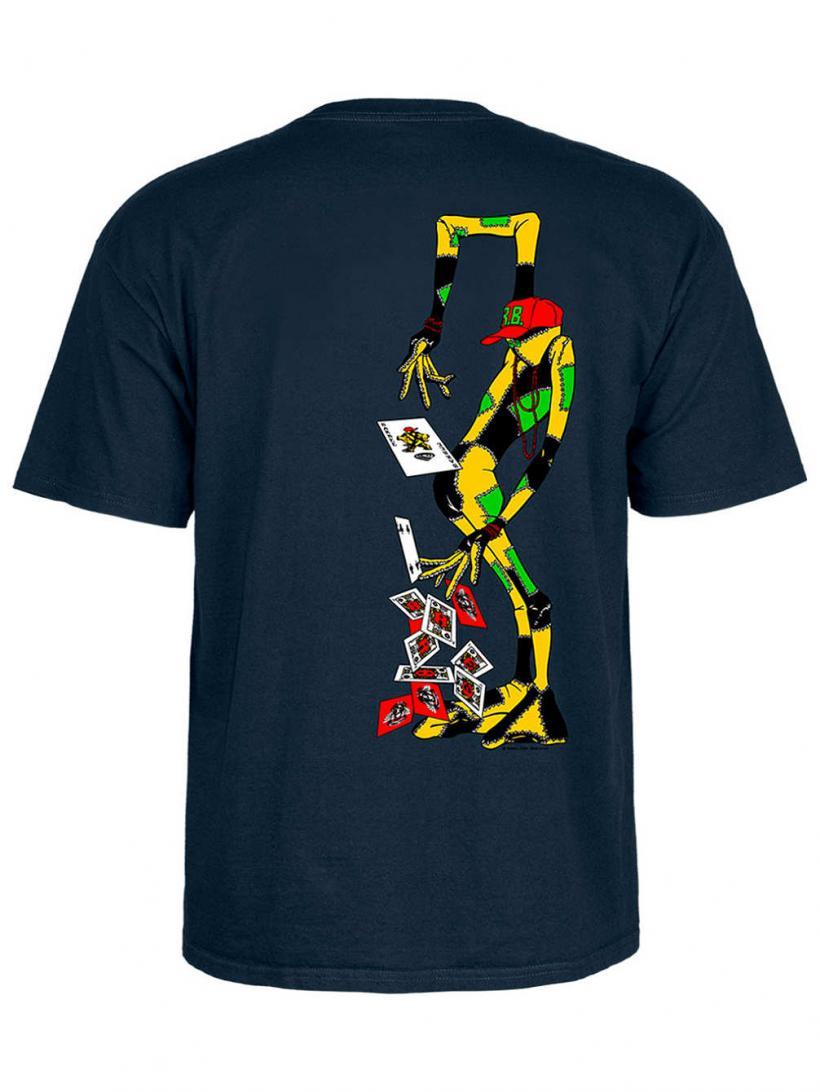 Powell Peralta Ray Barbee Rag Doll T-Shirt Navy   Mens T-Shirts