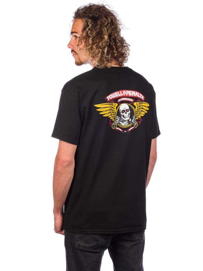 Powell Peralta Winged Ripper T-Shirt T-Shirt Black   Mens T-Shirts