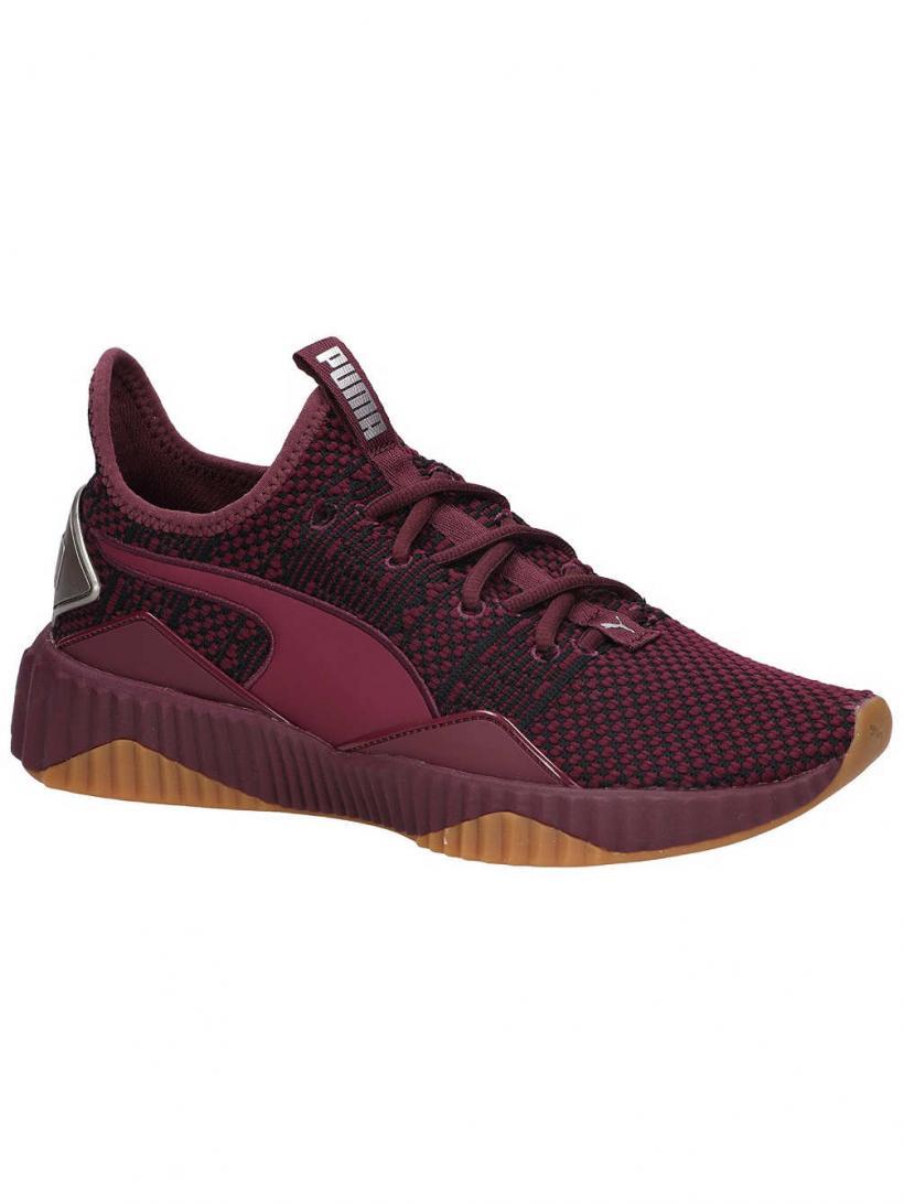 Puma Defy Luxe Fig/Metallic Ash | Mens/Womens Sneakers