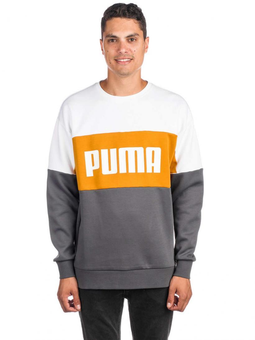 Puma Retro Crew Dk Sweater Iron Gate | Mens Pullovers