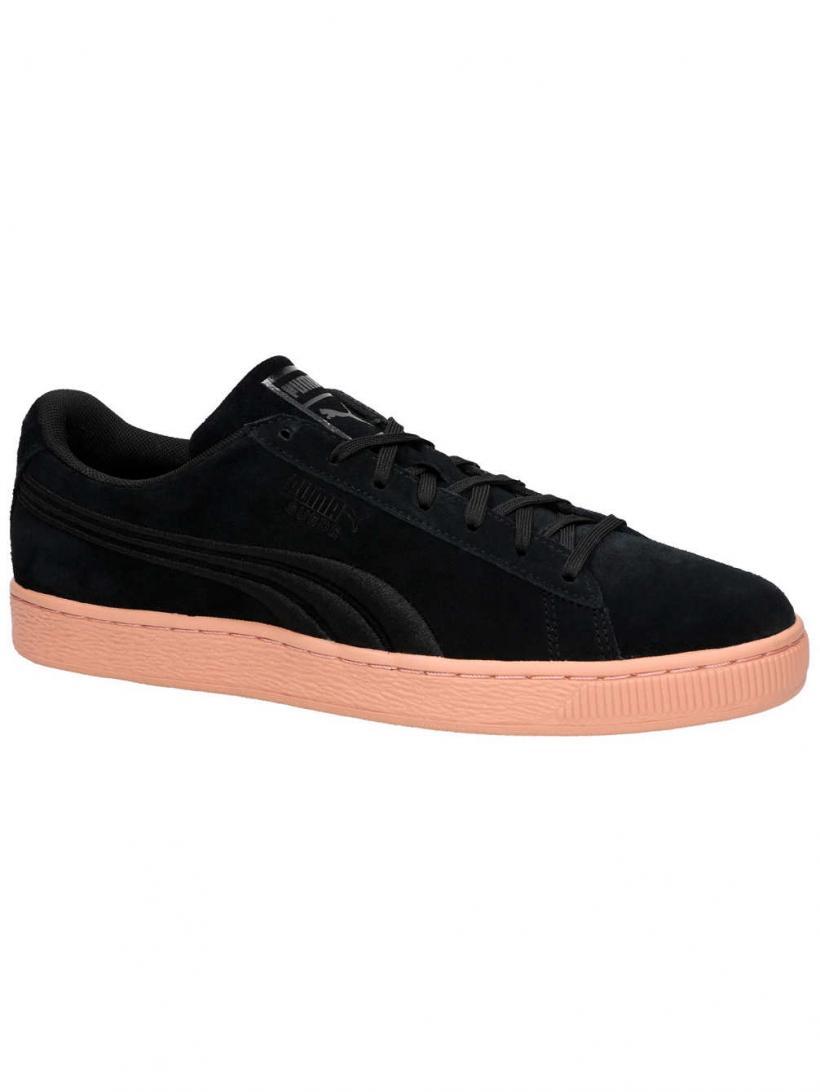 Puma Suede Classic Badge Flip Puma Black/Muted Clay | Mens Sneakers