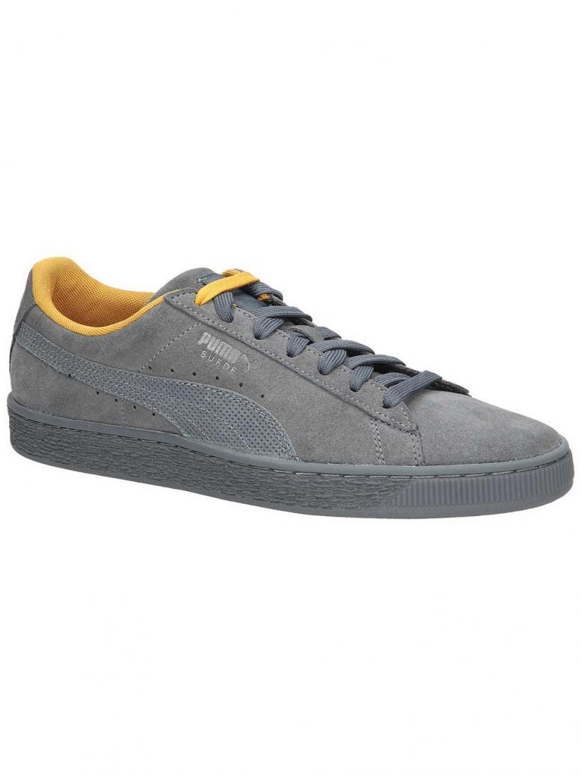 Puma Suede Classic Tonal Nu Skool Iron Gate/Iron Gate | Mens Sneakers