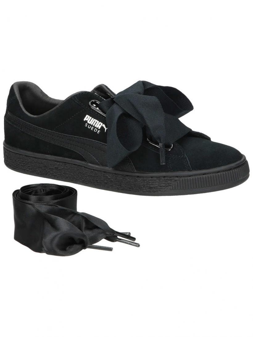 Puma Suede Heart EP Puma Black/Metallic Beige | Mens/Womens Sneakers