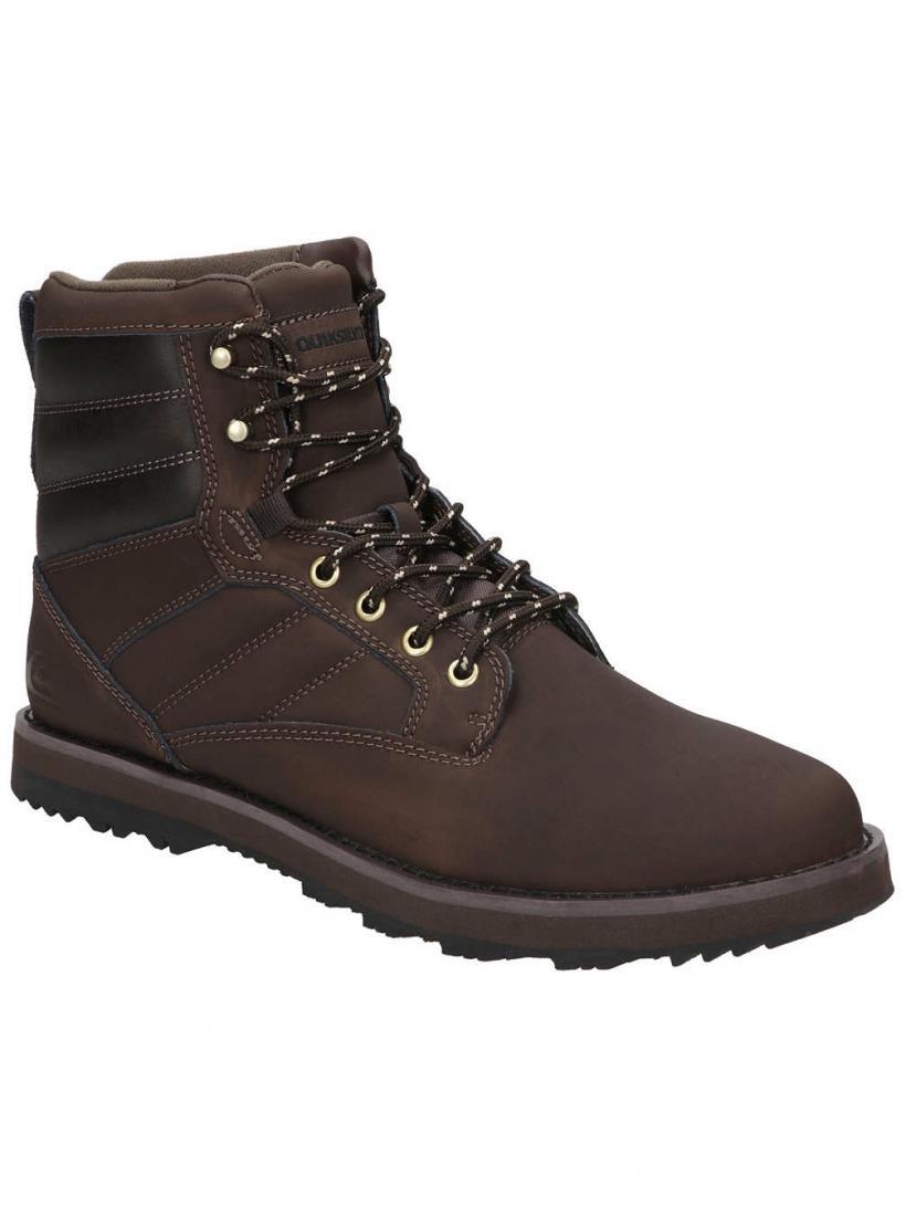 Quiksilver Bronk Brown/Brown/Brown | Mens Winter Shoes