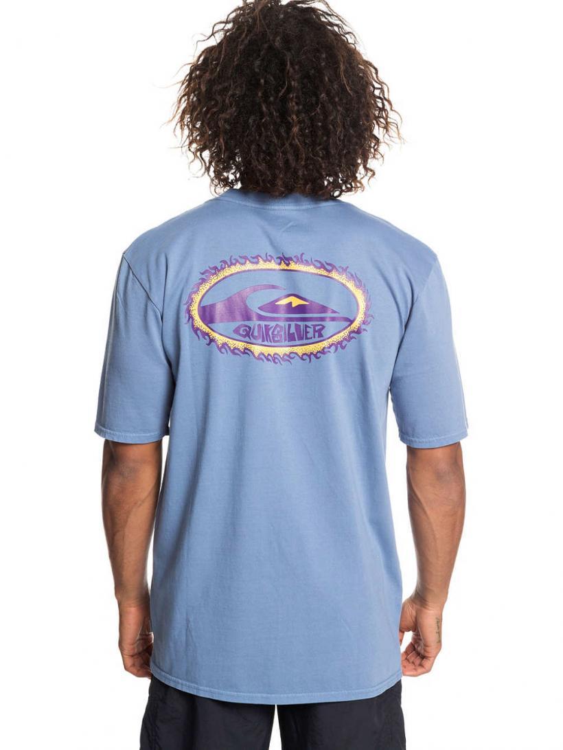 Quiksilver Furball T-Shirt Stone Wash | Mens T-Shirts
