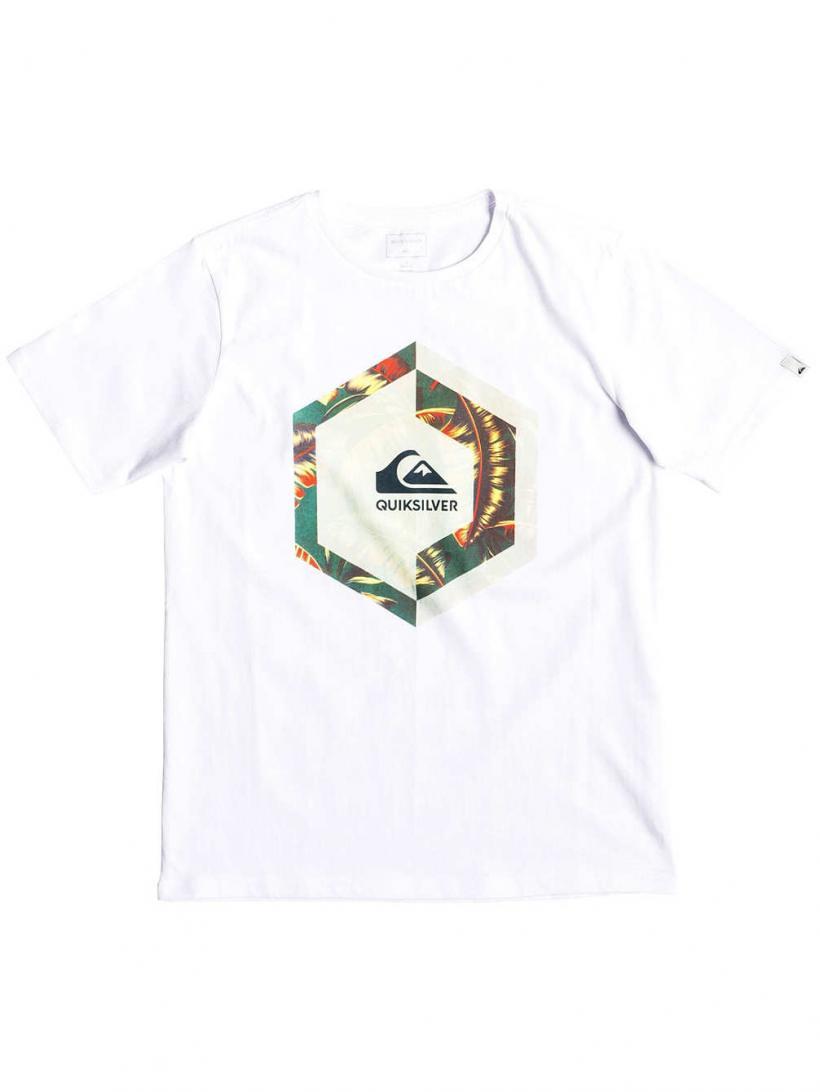 Quiksilver Heat Stroke T-Shirt White | Mens T-Shirts
