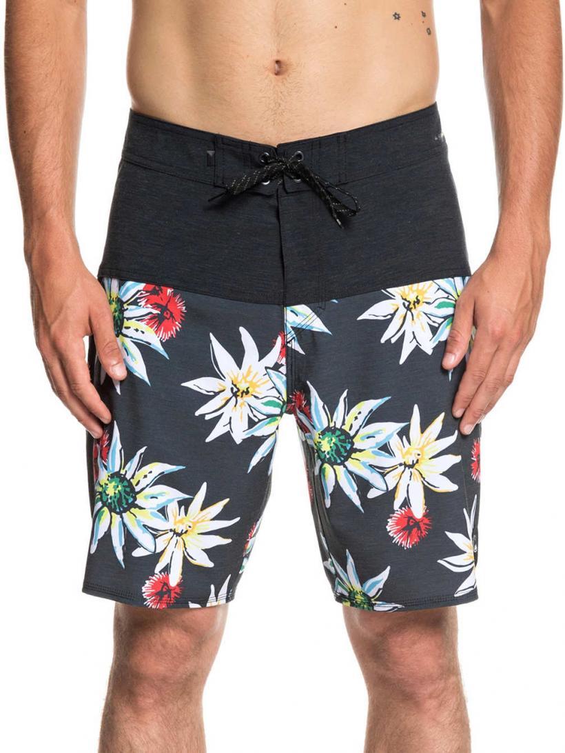 "Quiksilver Highline Devils Tea 19"" Boardshorts Black | Mens Swimwear"
