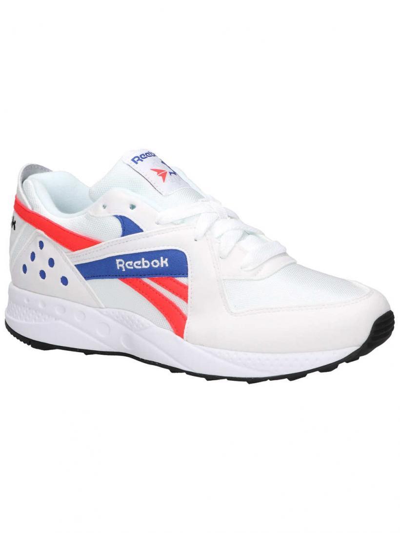 Reebok Pyro W Pops/White/Neon Red/Cru | Mens/Womens Sneakers