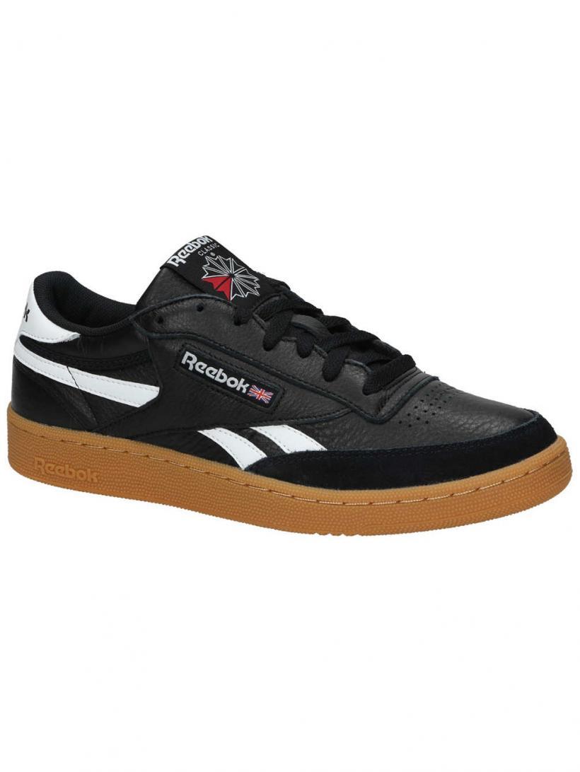 Reebok Revenge Plus Gum Black/White/Gum | Mens Sneakers