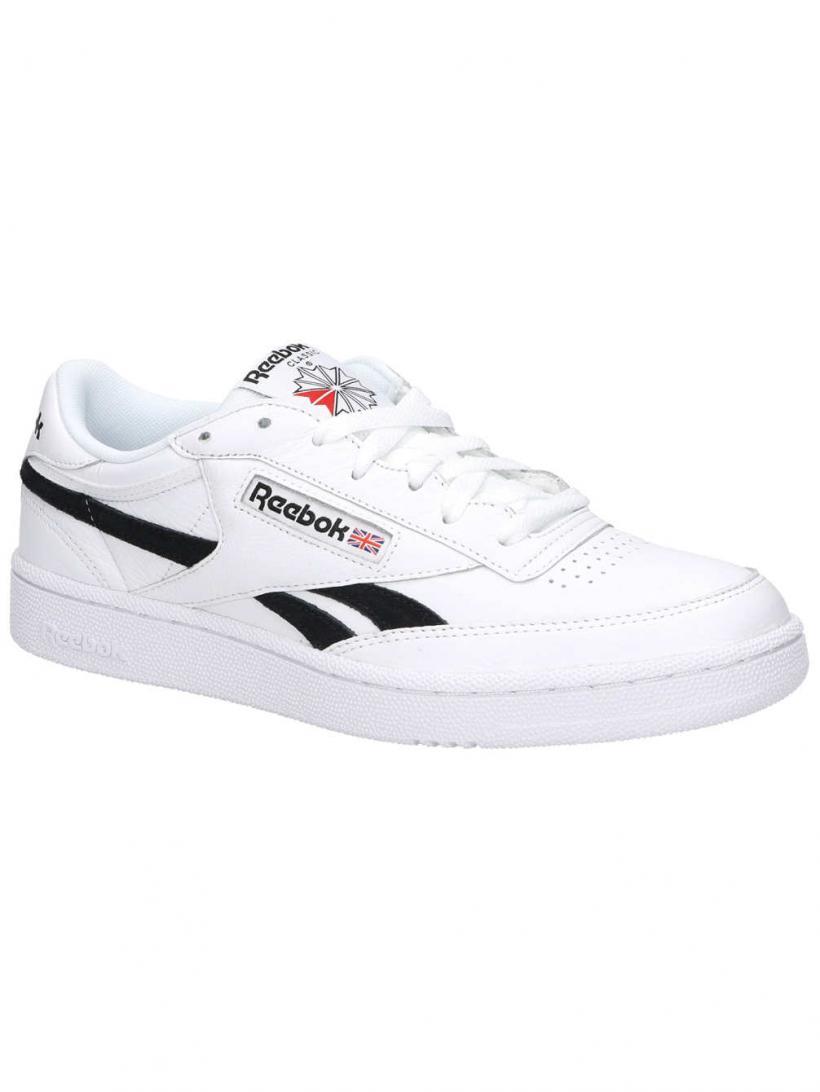 Reebok Revenge Plus MU White/Black | Mens Sneakers