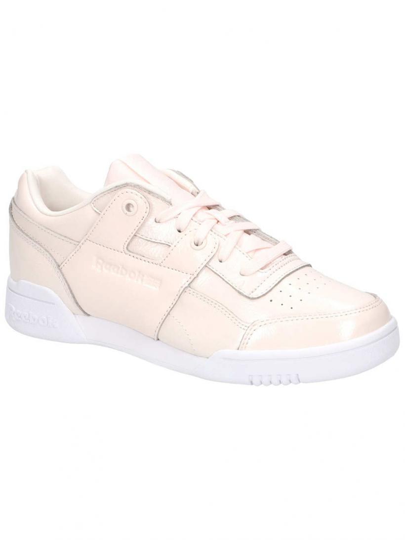 Reebok W/O Lo Plus Iridescent Pale Pink/White | Mens/Womens Sneakers