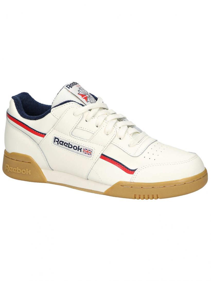 Reebok Workout Plus MU Pp/Classic White/Collegia | Mens Sneakers