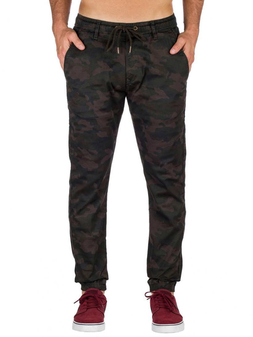 REELL Reflex 2 Pants Black Camo | Mens Chino Pants