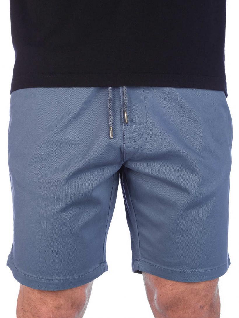 REELL Reflex Easy Shorts Grey Blue   Mens Shorts