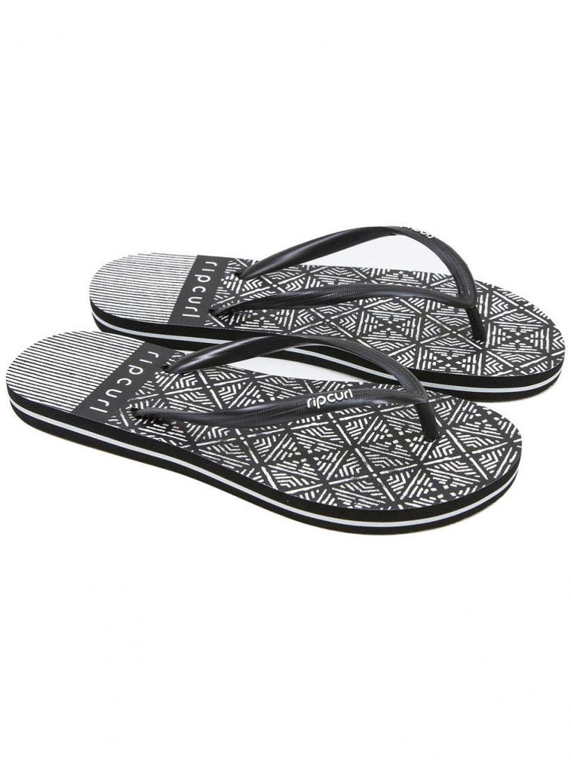 Rip Curl Coast To Coast Black/White | Mens/Womens Sandals