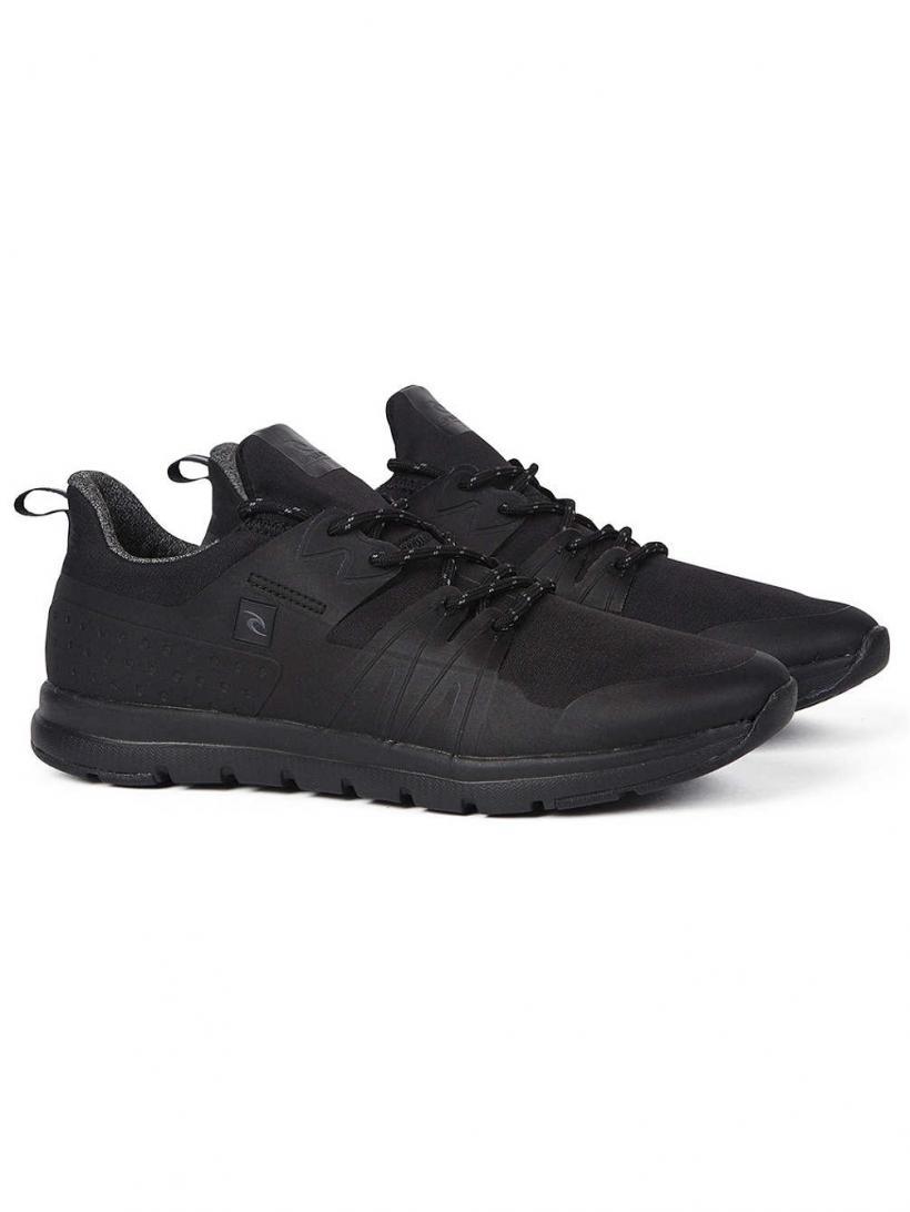 Rip Curl Crew Hydro Black/Black | Mens Sneakers