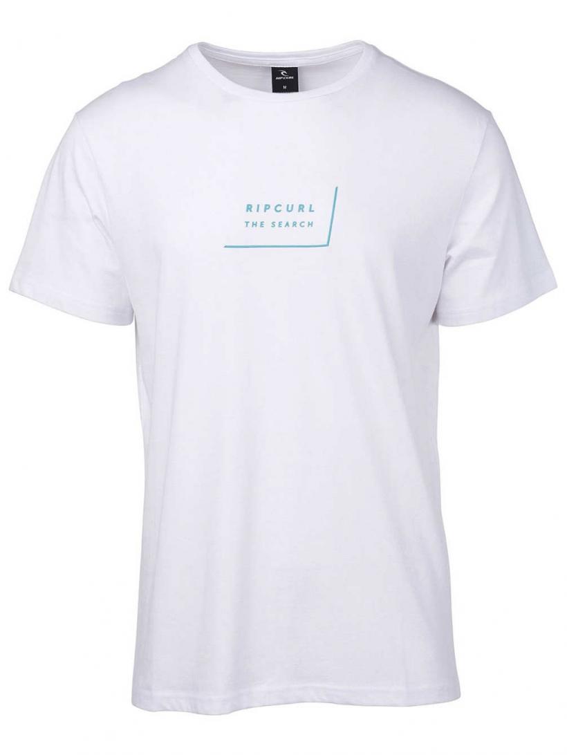 Rip Curl Daily T-Shirt Optical White | Mens T-Shirts