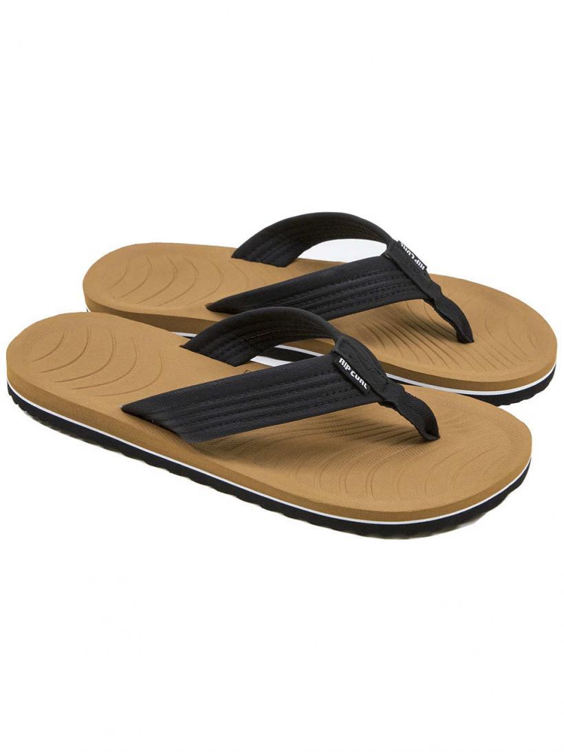 Rip Curl Dbah Black/Tan | Mens Sandals