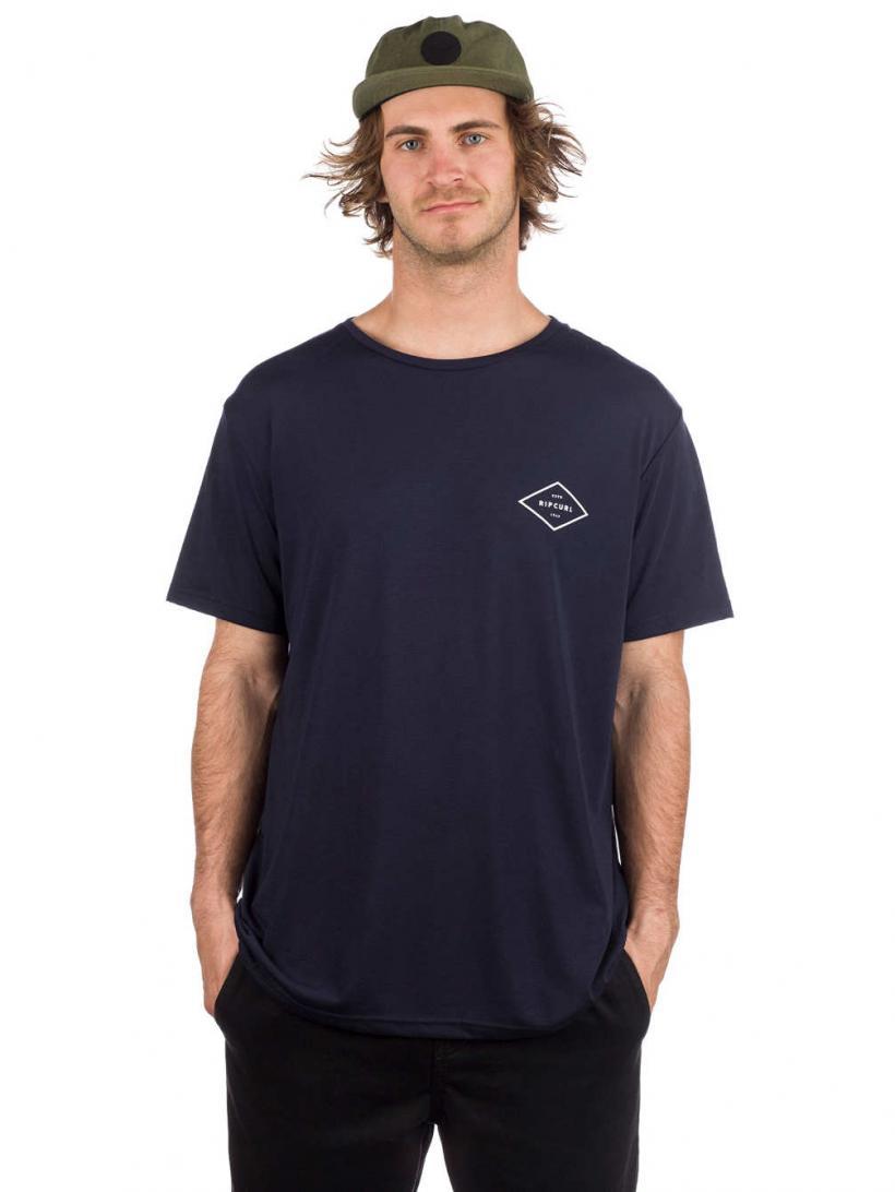 Rip Curl Essential Surfers T-Shirt Night Sky | Mens T-Shirts