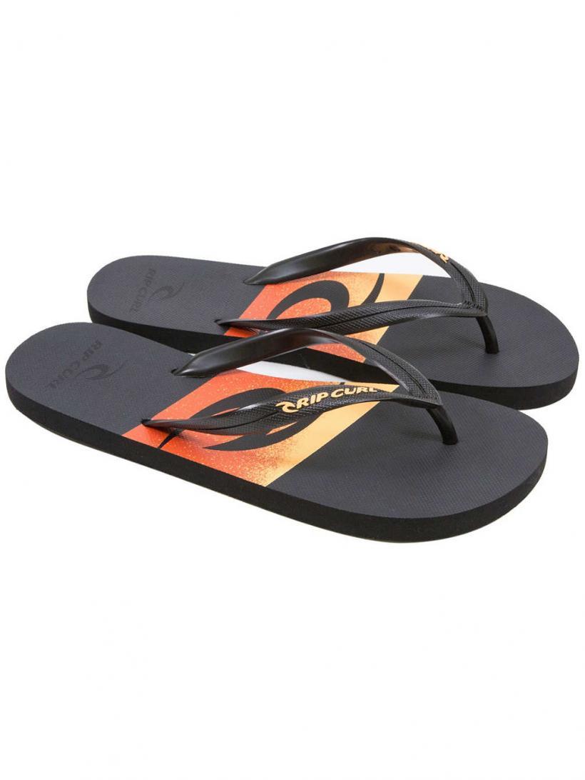 Rip Curl Flyer Black/Orange | Mens Sandals