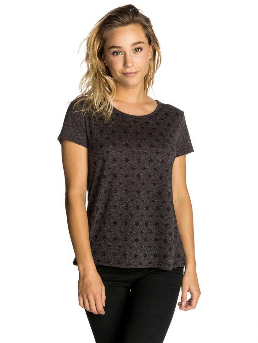Rip Curl Micro T-Shirt Black Marled | Mens/Womens T-Shirts