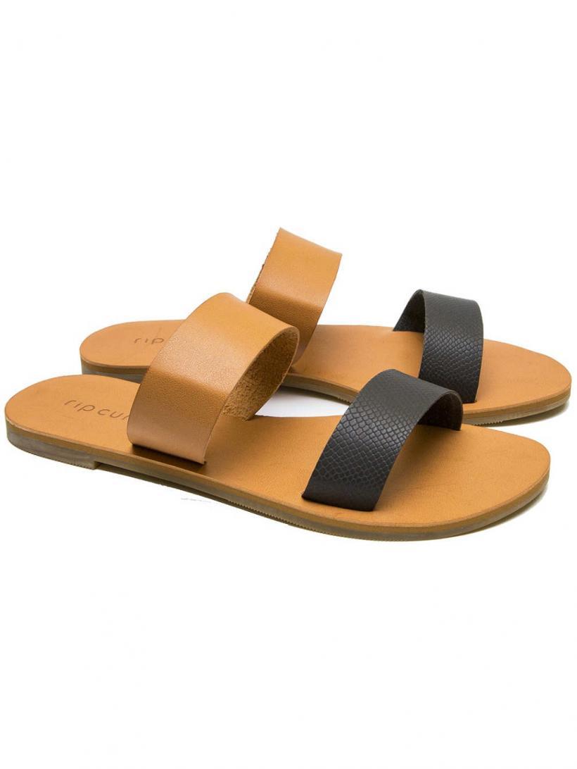 Rip Curl Tallows Black/Tan | Mens/Womens Sandals