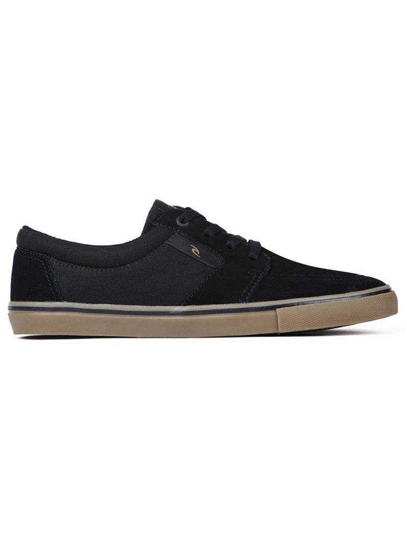 Rip Curl Transit Vulc Black/Gum   Mens Sneakers