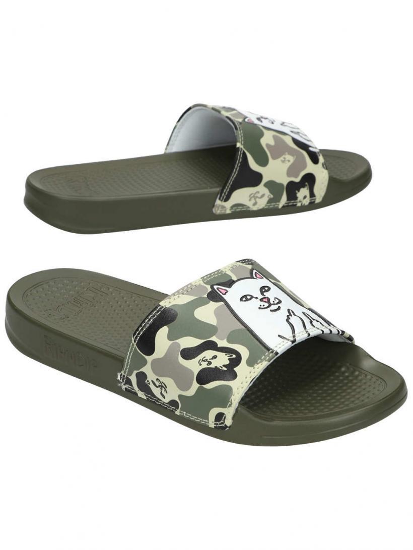 Rip N Dip Lord Nermal Slides Army Camo | Mens/Womens Sandals