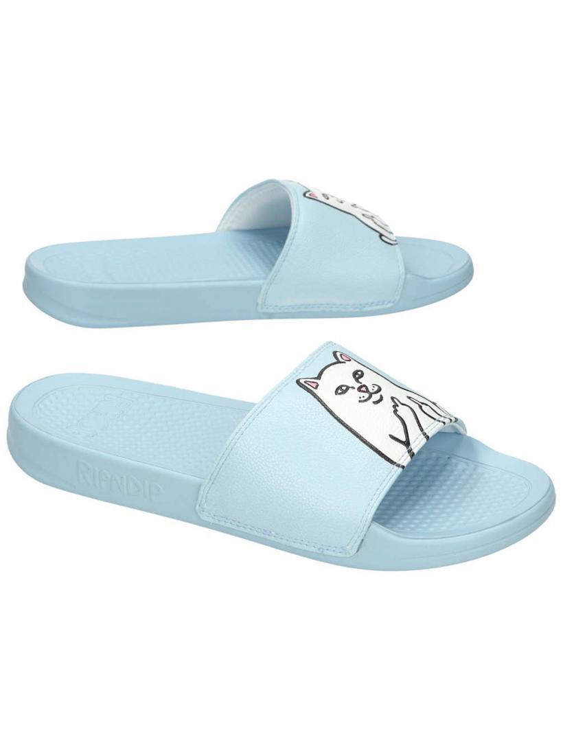 Rip N Dip Lord Nermal Slides Baby Blue | Mens/Womens Sandals