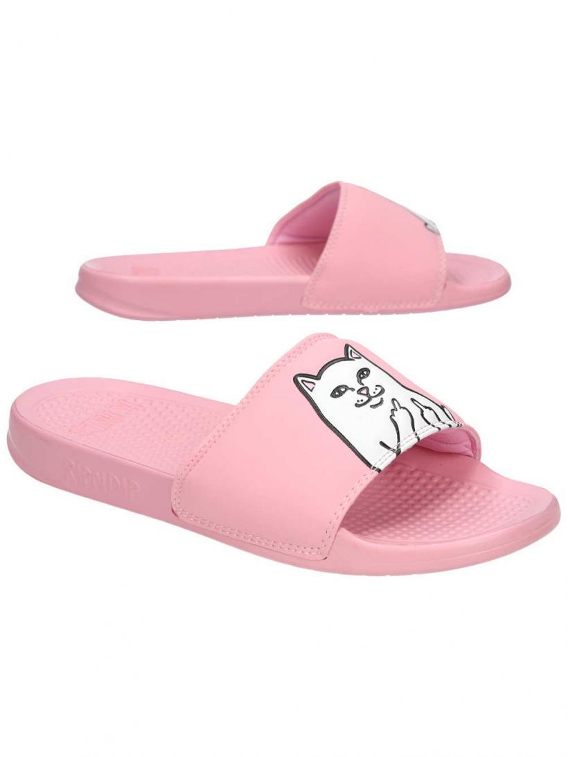 Rip N Dip Lord Nermal Slides Pink   Mens/Womens Sandals