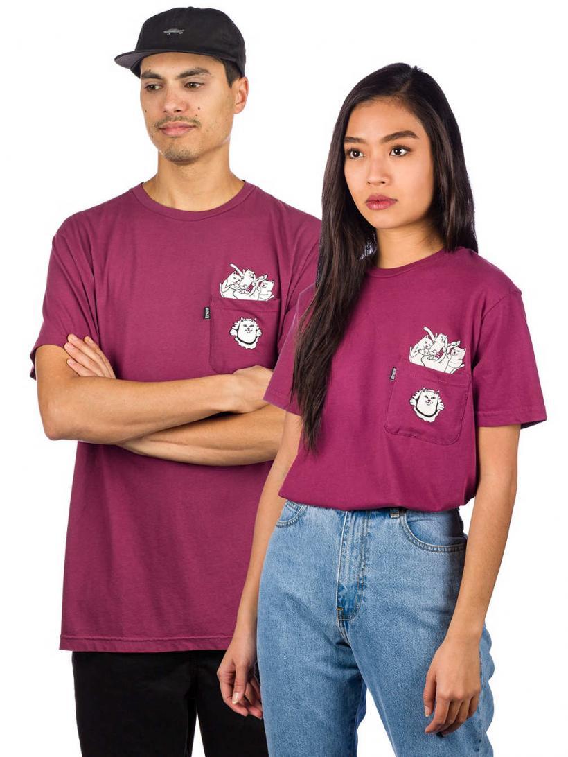 Rip N Dip Nermamaniac T-Shirt Burgundy   Mens T-Shirts