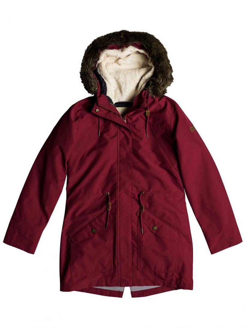 Roxy Amy 3N1 Jacket Beet Red | Womens Jackets