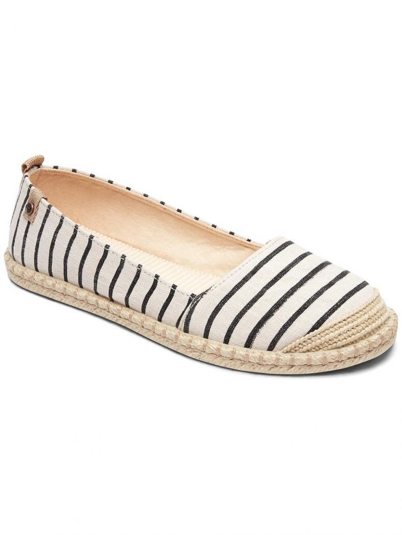 Roxy Felicity Slip-Ons Black/White | Mens/Womens Slip-Ons