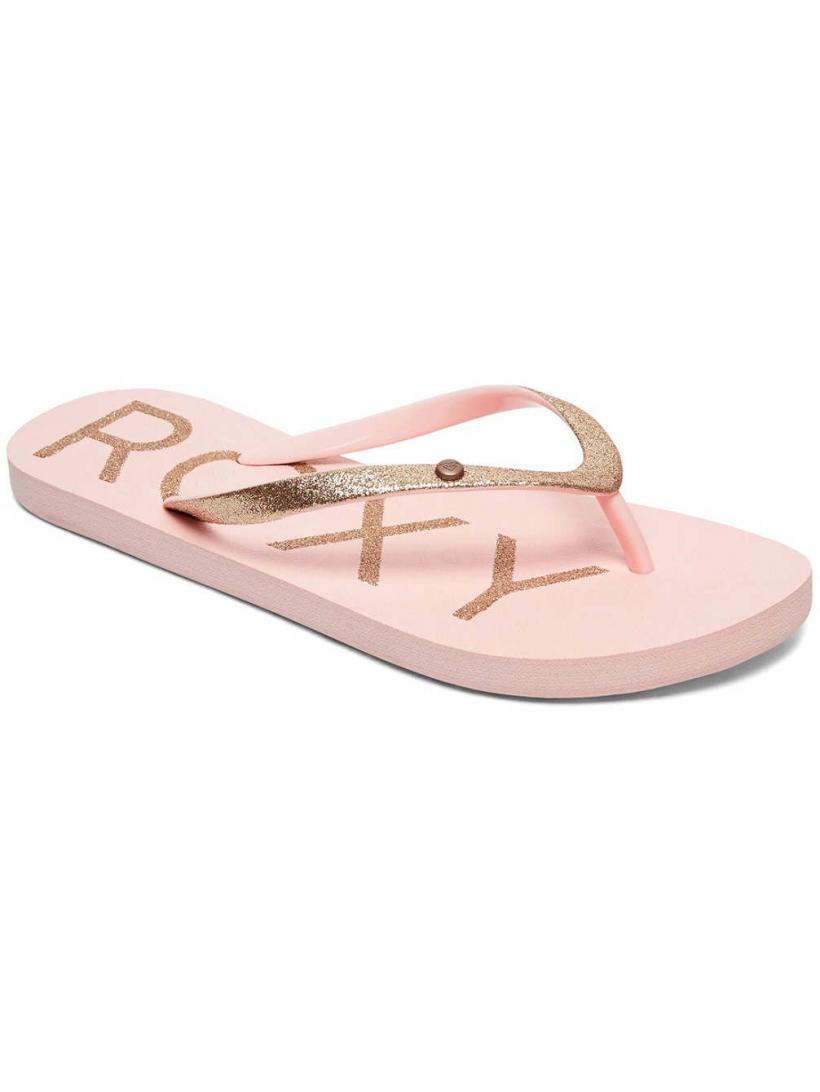 Roxy Viva Glitter IV Lt Peach   Mens/Womens Sandals