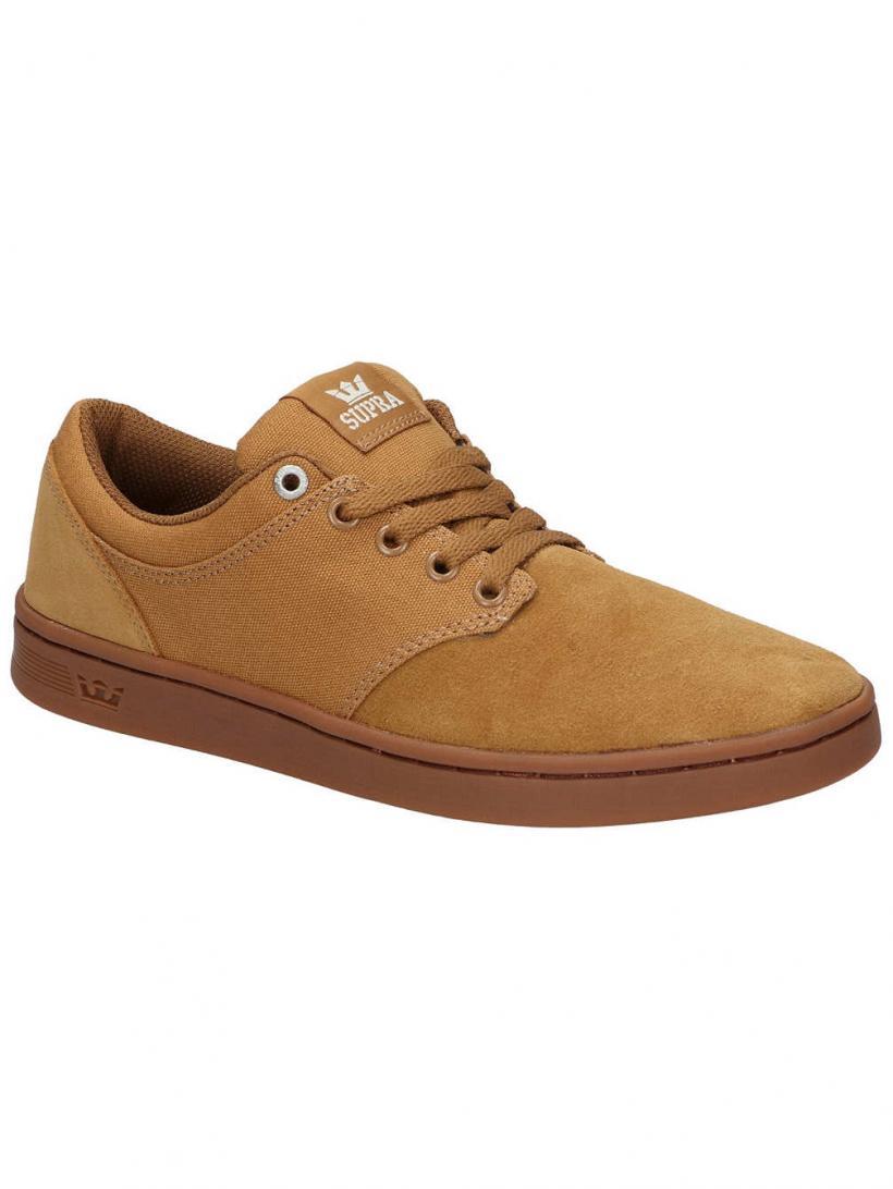 Supra Chino Court Tan/Gum   Mens Skate Shoes
